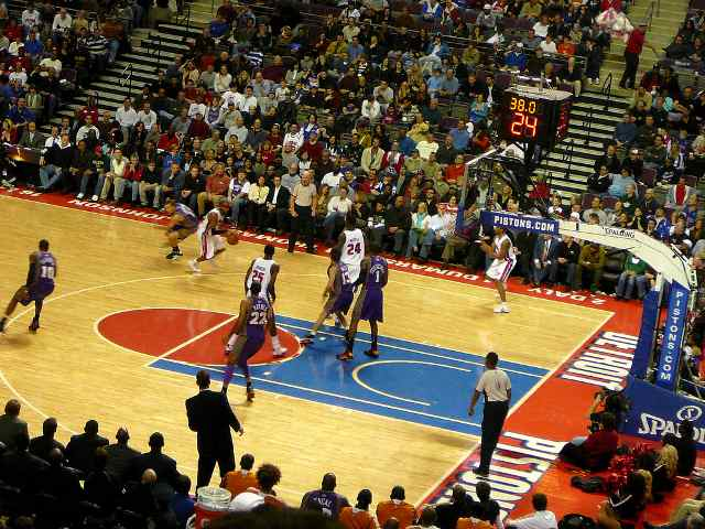 Detroit Pistons Club Seats