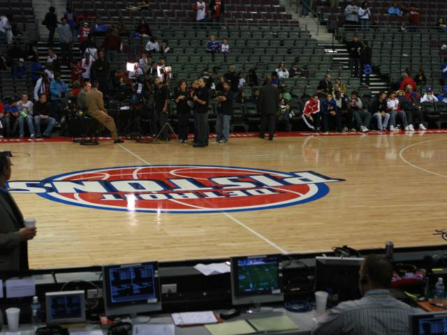 Detroit Pistons Lower Seats
