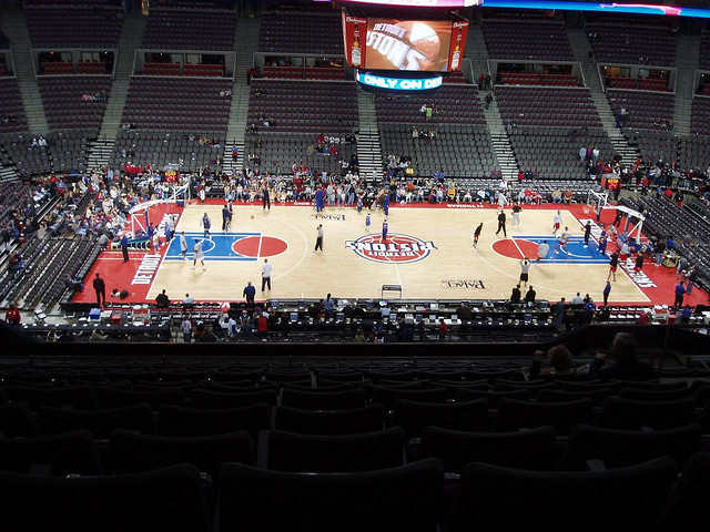 Detroit Pistons Upper Seats